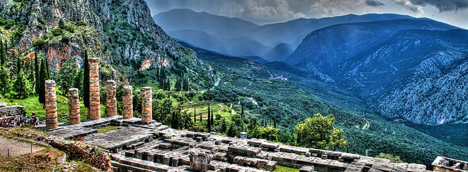 Athens airport transfers to/from Delphi